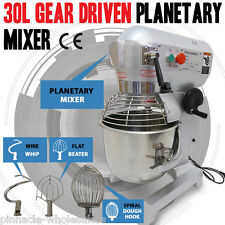 NEW 30 Litre 3-Speed Food Mixer /Dough Mixer /Planetary Mixer S/S Bowl B20B