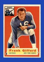 1956 Topps Set Break # 53 Frank Gifford NR-MINT *GMCARDS*