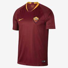 Men's 2018/19 Team AS Roma Football Club Home Blue Stadium Jersey Soccer XXL