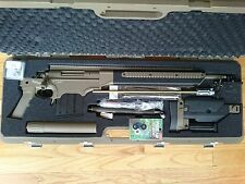ASG ASW338LM airsoft sinper rifle unfinished project with lots upgrade parts