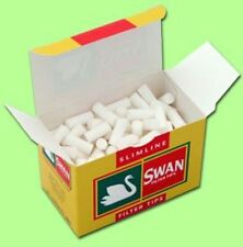 SWAN SLIMLINE FILTER TIPS - 10 PACKS OF 165 TIPS