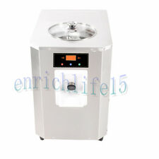 Automatic hard ice cream machine with 6L cylinder,R22 refrigerant,15L/h