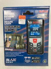 Bosch Laser Measure 165 Ft50 M Range Bluetooth Model Glm50c