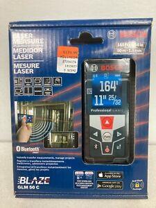 Bosch Laser Measure. 165 ft/50 m Range. Bluetooth. Model #GLM50C