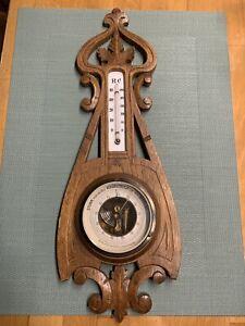 antike Thermometer und Barometer