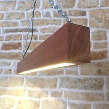SOLID WOOD LED WOODEN BEAM LIGHT MINIMALIST MODERN BAR TABLE LED PENDANT LIGHT