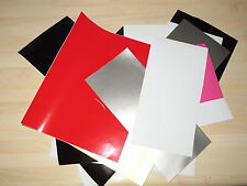 Vinyl Self Adhesive Off Cuts - Mix colours/sizes - 88gms of mixed colour vinyl