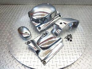 2007 06-09 Suzuki Boulevard C50 VL800 OEM Chrome Engine Covers Trim Lot
