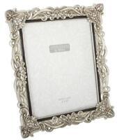 "Silver Resin Antique Effect Photo Frame 8x10"" Photograph Horizontal or Portrait"