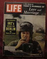 LIFE September 8 1961 Sept Sep 1/8/61 Berlin Wall Crisis Mickey Spillane