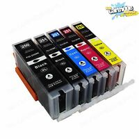 5PK PGI-250XL CLI-251XL High Yield ink For Canon Pixma IP7220 8720 IX6820 MG5420