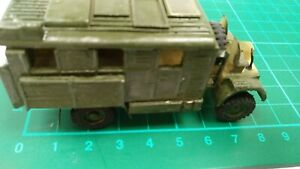Leyland Plastic Built Model WW2 Truck Lorry Shelter Mobile Cuisine Toy