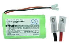 Battery NI-MH Connector Universal 2.4V 600mAh 2X Aa