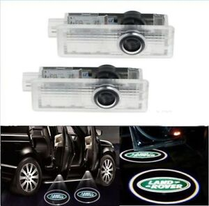 2x Door Light for Land Rover Range Welcome Logo Ghost Shadow LED Courtesy Laser