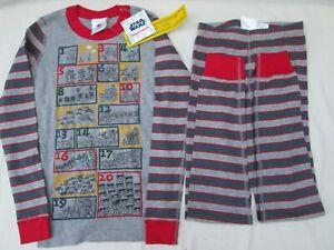 ❤ HANNA ANDERSSON STAR WARS pajamas NEW $48 organic cotton 130 NWT 7 8 FREESHIP