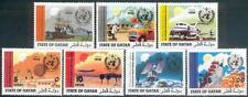 Qatar 1973 ** Mi.561/67 IMO WMO Meteorologie Meteorology Flugzeug Airplane