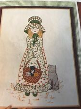 SIMPLICITY 6248 HOLLY HOBBIE EMBROIDERY PICTURE OR DOLL PATTERN TRANSFER FF UC
