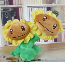 Plants vs Zombies Twin Sunflower Plush Toy - NEW - FREE FAST USA SHIPPING