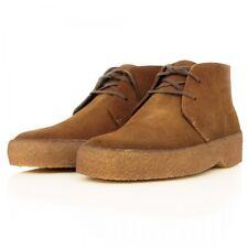 Clarks Originals ** DESERT EARL** Cola Suede Boots ** UK 10 / 10.5