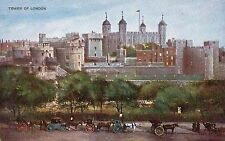 London - Tower of London - 1900's Postcard