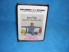 JERRY VALE, SINGS THE GREAT ITALIAN HITS 8 TRACK TAPE CARTRIDGE 7686-1 BOX 7
