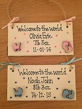 Handmade Baby Decorative Indoor Signs/Plaques