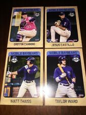 COMPLETE 2018 MOBILE BAYBEARS TEAM SET ANGELS MINORS CANNING JEWELL WARD THAISS