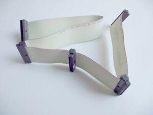 SCSI III Cable LVD/SE HD 5 x 68 Pin Male Mini Sub-D Ribbon Cable + Terminator