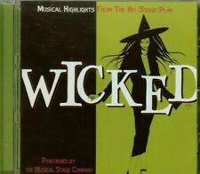 WICKED - Musical Highlights from the Hit Stage Play-  Musical Stage Company - CD