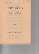 FORT PAH - UTE CALIFORNIA    Tales of the Mojave Road #4    Dennis Casebier
