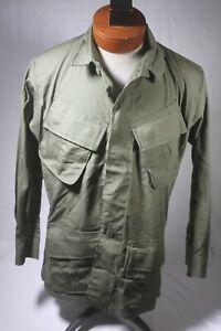 Vietnam war era US Army Mint unissued 3rd pattern Jungle Jacket fatigue Small sh