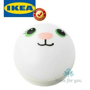 IKEA KORNSNO LED Night Light White Rabbit Battery Operated