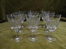 9 verres à porto cristal Baccarat mod cassino (porto/cherry glasses)