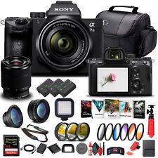 Sony Alpha a7 III Mirrorless Camera W/ 28-70mm Lens ILCE7M3K/B - Advanced Bundle