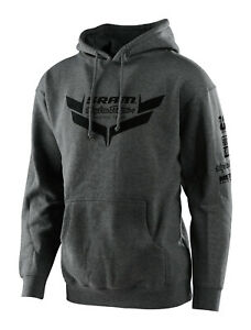 Troy Lee Designs SRAM TLD RACING ICON Pullover Hoody - Charcoal
