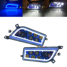 Blue Led Angel Headlights For  2014-2018 Polaris RZR 1000 XP & Turbo RZR 900 S