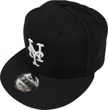 New Era New York Mets Black White Logo Snapback Cap 9fifty Limited Edition MLB