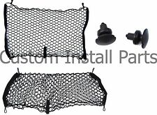 Envelope Style Rear Seat Cargo Net Set of 2 Fits Jeep Compass Patriot 2007-2017
