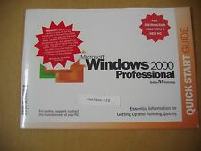 MICROSOFT WINDOWS 2000 PROFESSIONAL w/SP2 FULL OPERATING SYSTEM MS WIN PRO =NEW=