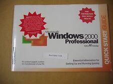 MICROSOFT WINDOWS 2000 PROFESSIONAL w/SP4 FULL OPERATING SYSTEM MS WIN PRO =NEW=