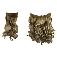 Hair Extensions Clip In 2 Piece POP Curly Wavy Honey Ginger Colour Fashion 21""