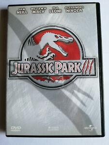 JURASSIC PARK III DVD COME NUOVO ITALIANO PRIMA EDIZIONE UNIVERSAL
