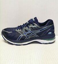 Asics Gel Nimbus 20 Running Shoes Women's Size 6 (D) Navy /Opal Green Sneaker