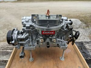 Edelbrock 1806 Thunder Series AVS Carburetor 4v 4bbl 650 CFM Electric Choke
