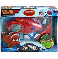 Spider-Man Marvel Ultimate Cold Color Change Target Set Water Blaster Shield New