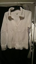 Banana Republic Ladies Sweater in an Ivory White Size L - NWOT