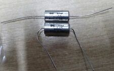 Vintage RS components 2.2uf 63v polycarbonate axial capacitor 113-544
