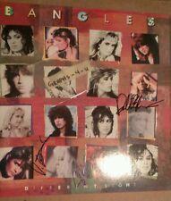 the Bangles Signed Susanna Hoffs Debbie Peterson Vickie Peterson Autograph K