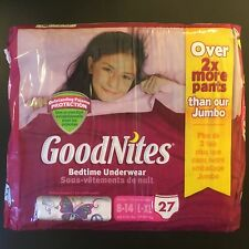 Bed Wetting Diapers for Older Girls by Huggies Pull-ups Vintage Goodnites