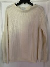Angora Wool Sweater Soft Pullover White Stag Xl Woman 16 18